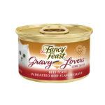 Fancy Feast Gravy Lovers Beef Feast in Roasted Beef Flavor Gravy 85gm